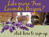Sign up to enews list to receive the latest recipes